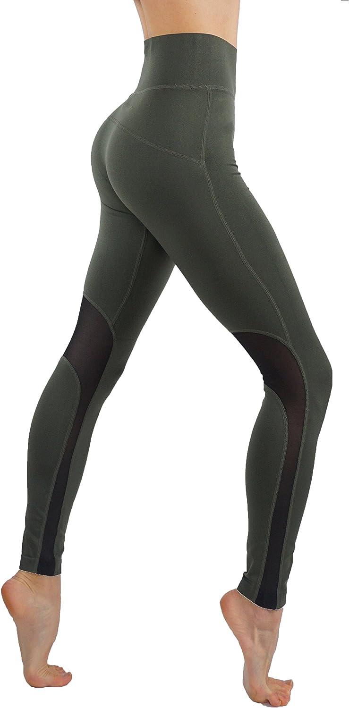 CODEFIT Yoga Pants Dry-Fit Workout Leggings Mesh Cutouts High Waist Tummy Control Sexy!1