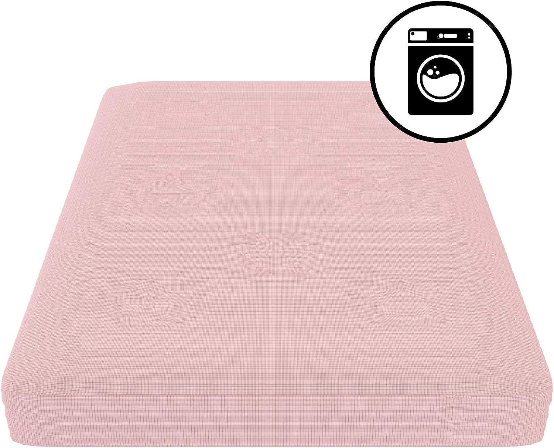 DHP 4293929 Futon Mattress Slipcover Full Red