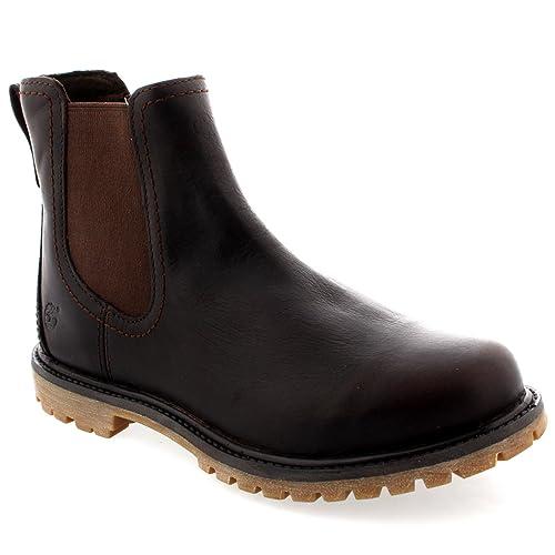 Timberland Botines Earthkeepers Chelsea Marrón Oscuro EU 36 (US 5.5): Amazon.es: Zapatos y complementos