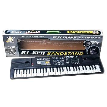 Foxom Piano Infantil 61 Teclas Piano Electrico Teclados con Micrófono Piano Juguete Musical Regalo para Niños Infantil Principiantes: Amazon.es: Juguetes y ...