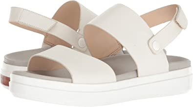 b681b8e7e3cb Dr. Scholl s Women s Scout Sandal - Original Collection Marshmellow White  Suede ...