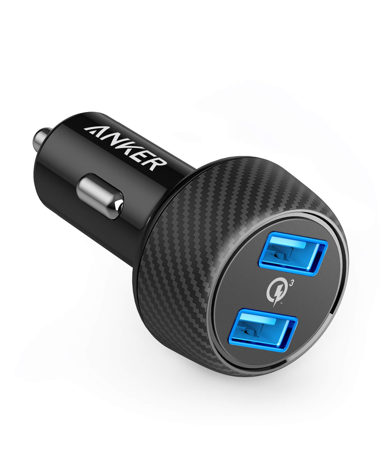 Anker Quick Charger 3.0 39W Dual USB Car Charger