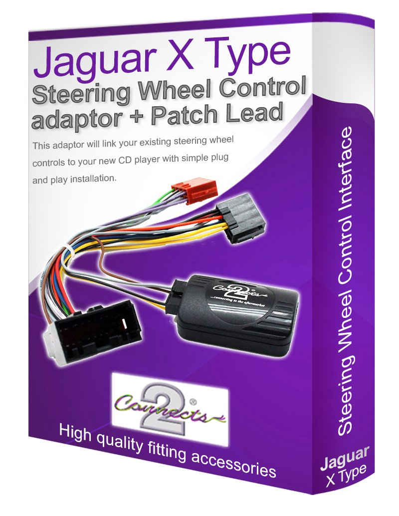 71HGG%2Bs0VyL._SL1034_ jaguar x type car stereo adapter, connect your steering amazon co jaguar x type sat nav wiring diagram at suagrazia.org