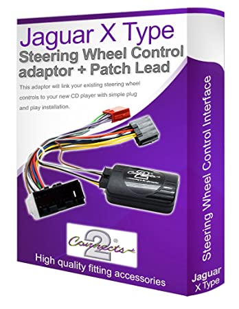 Jaguar x type car stereo adapter connect your steering amazon jaguar x type car stereo adapter connect your steering wheel stalk controls asfbconference2016 Choice Image