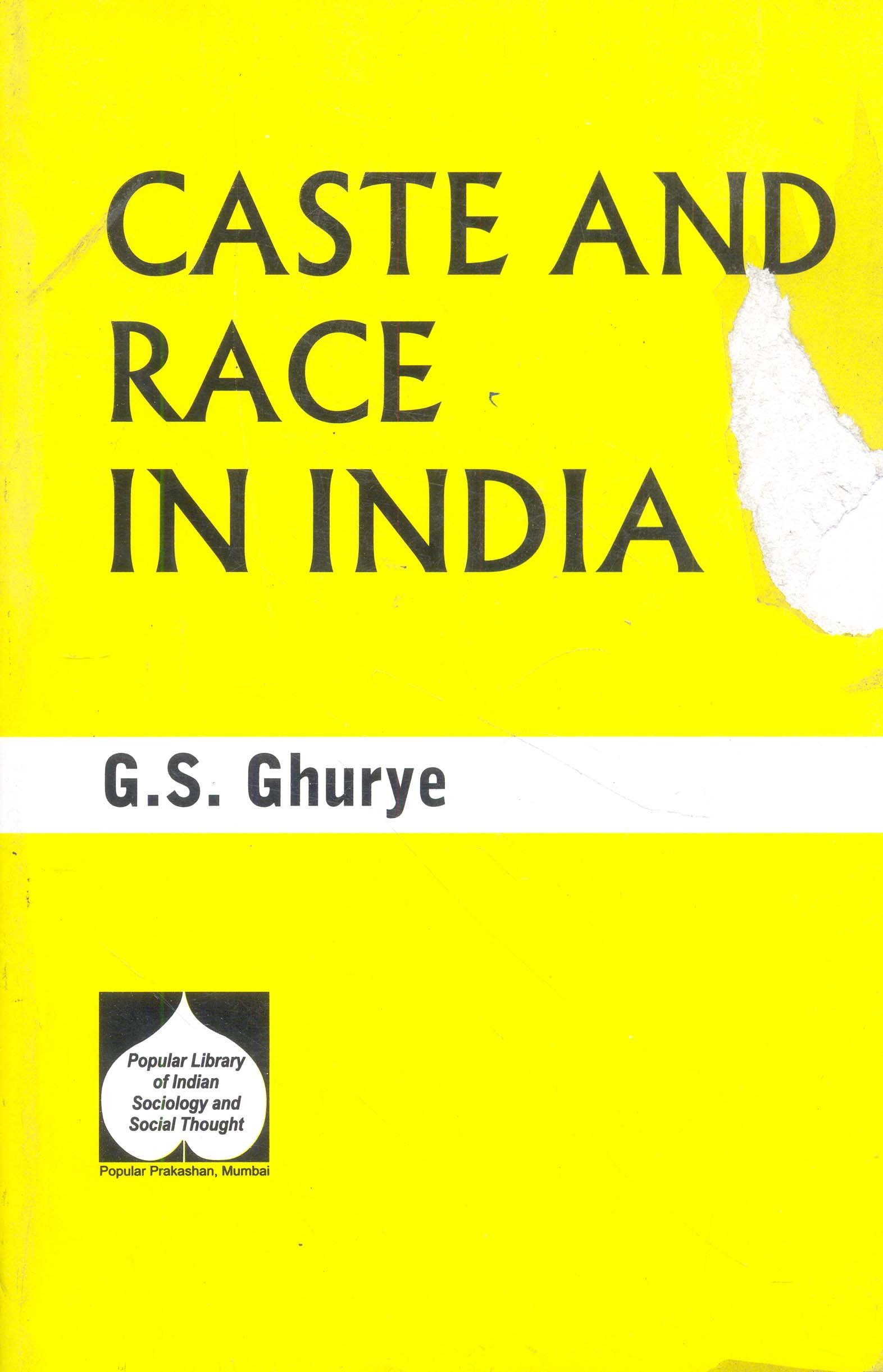 Image result for caste and race in india g s ghurye