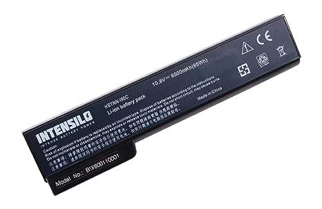 INTENSILO Li-Ion batería 6000mAh (11.1V) para Notebook Ordenador portátil HP ProBook