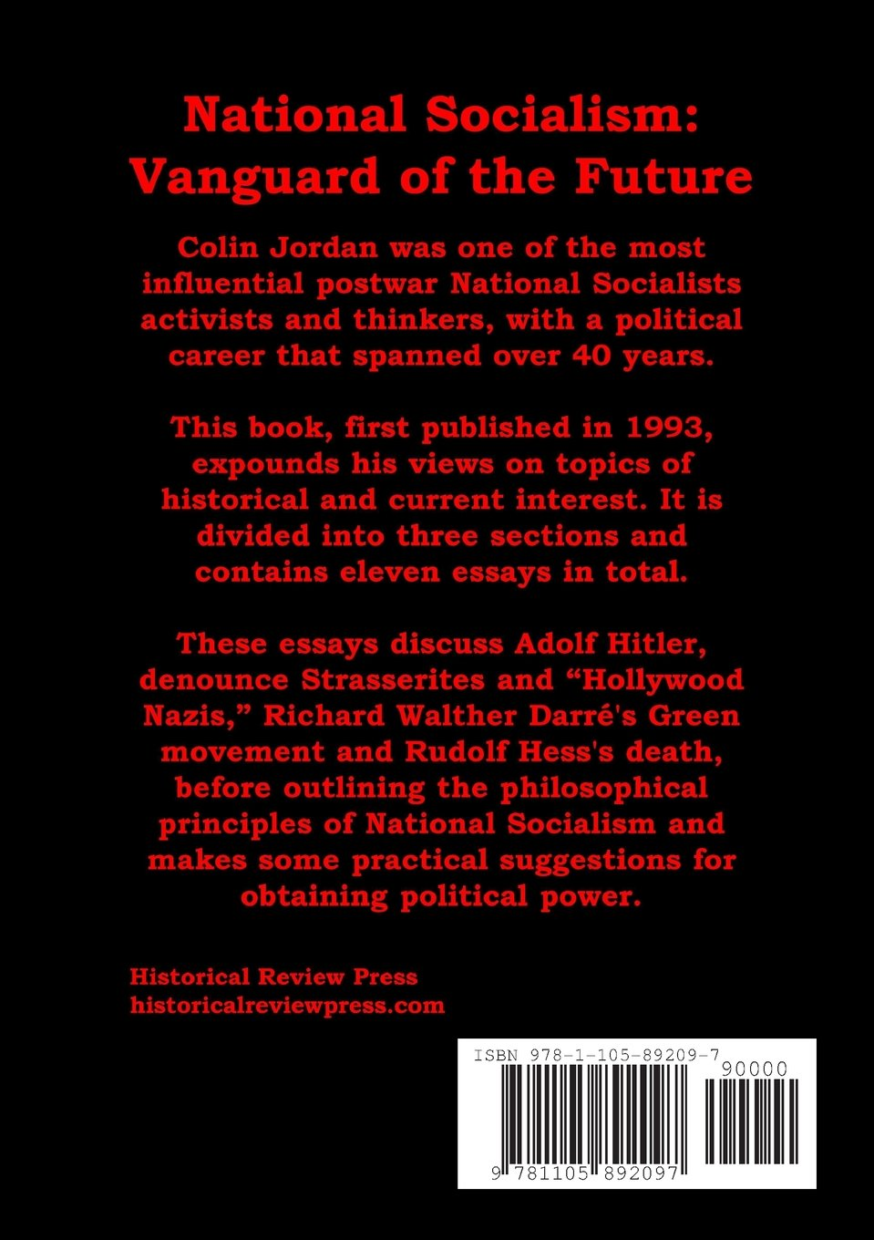 adolf hitler essays hitler essay hitler essay philadelphia  national socialism vanguard of the future colin national socialism vanguard of the future colin 9781105892097 com adolf hitler thesis statements