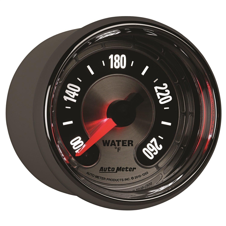 Auto Meter 1255 American Muscle 2-1/16' Water Temperature Gauge