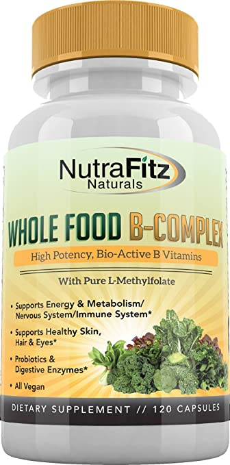 Product thumbnail for NutraFitz Natural B-Complex