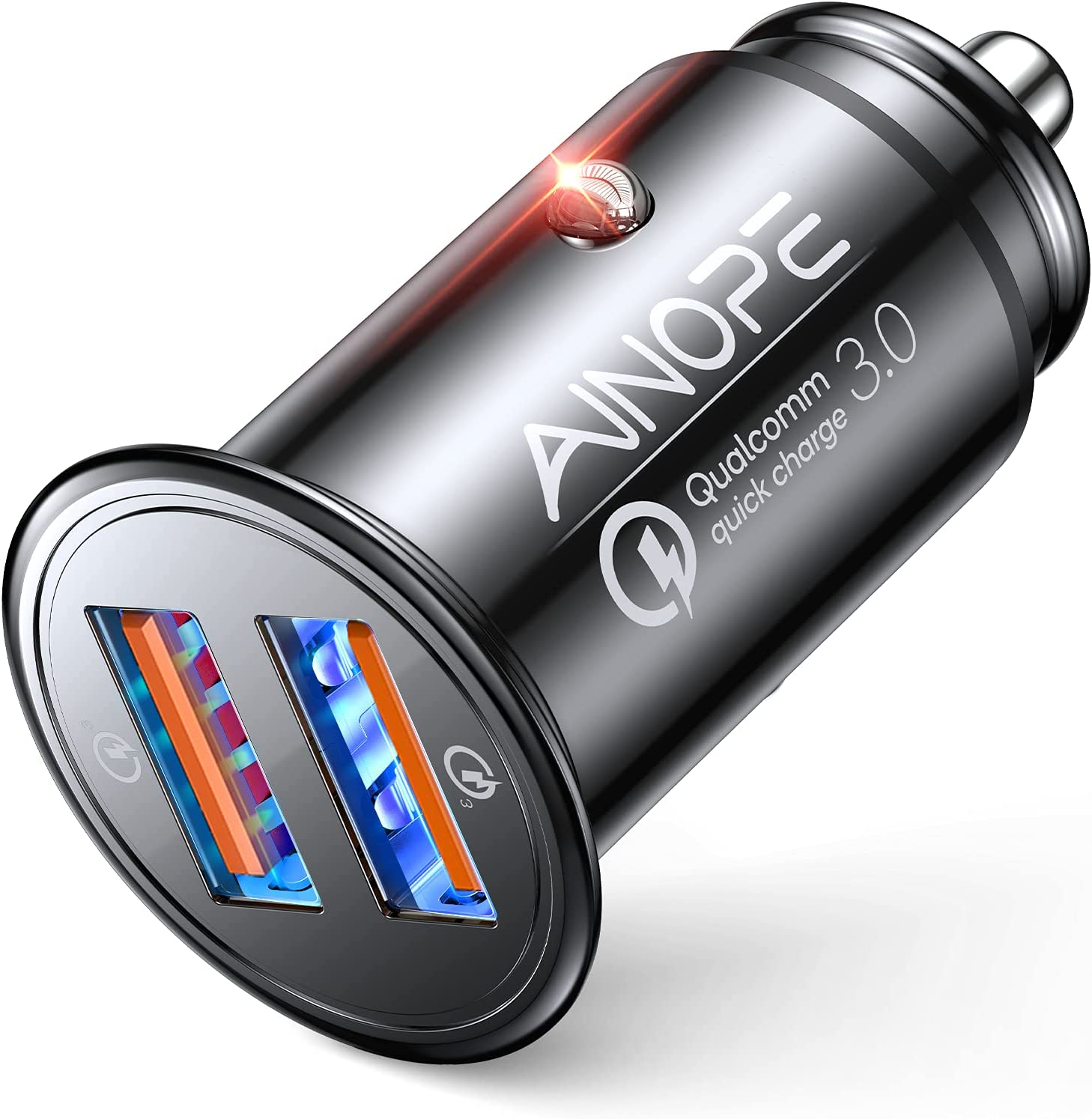 AINOPE Quick Charge 3.0 USB Car Charger