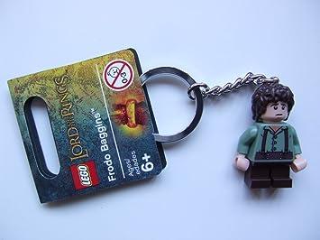 LEGO El Señor De Los Anillos: Frodo Baggins Llavero: Amazon ...
