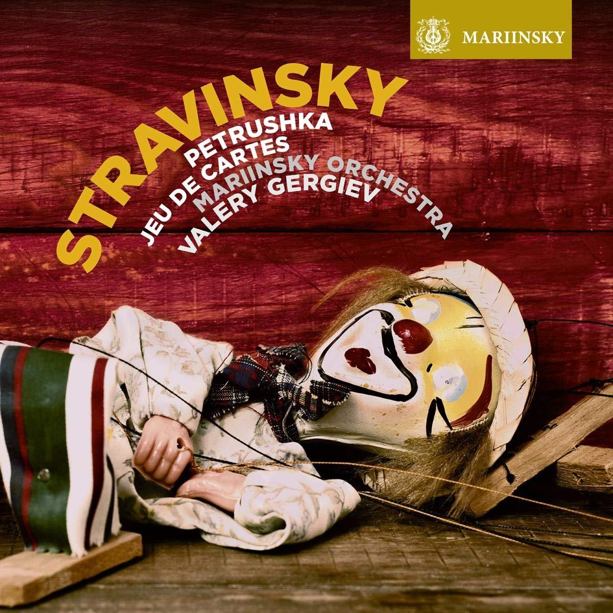 SACD : MARIINSKY ORCHESTRA - VALERY GERGIEV - Stravinsky: Petrushka Jeu De Cartes (SACD)