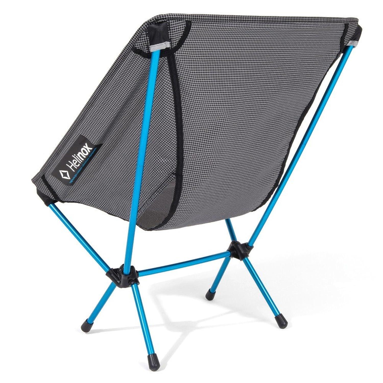 Helinox Chair zéro Camping Chair 4leg s Noir Bleu Gris Amazon