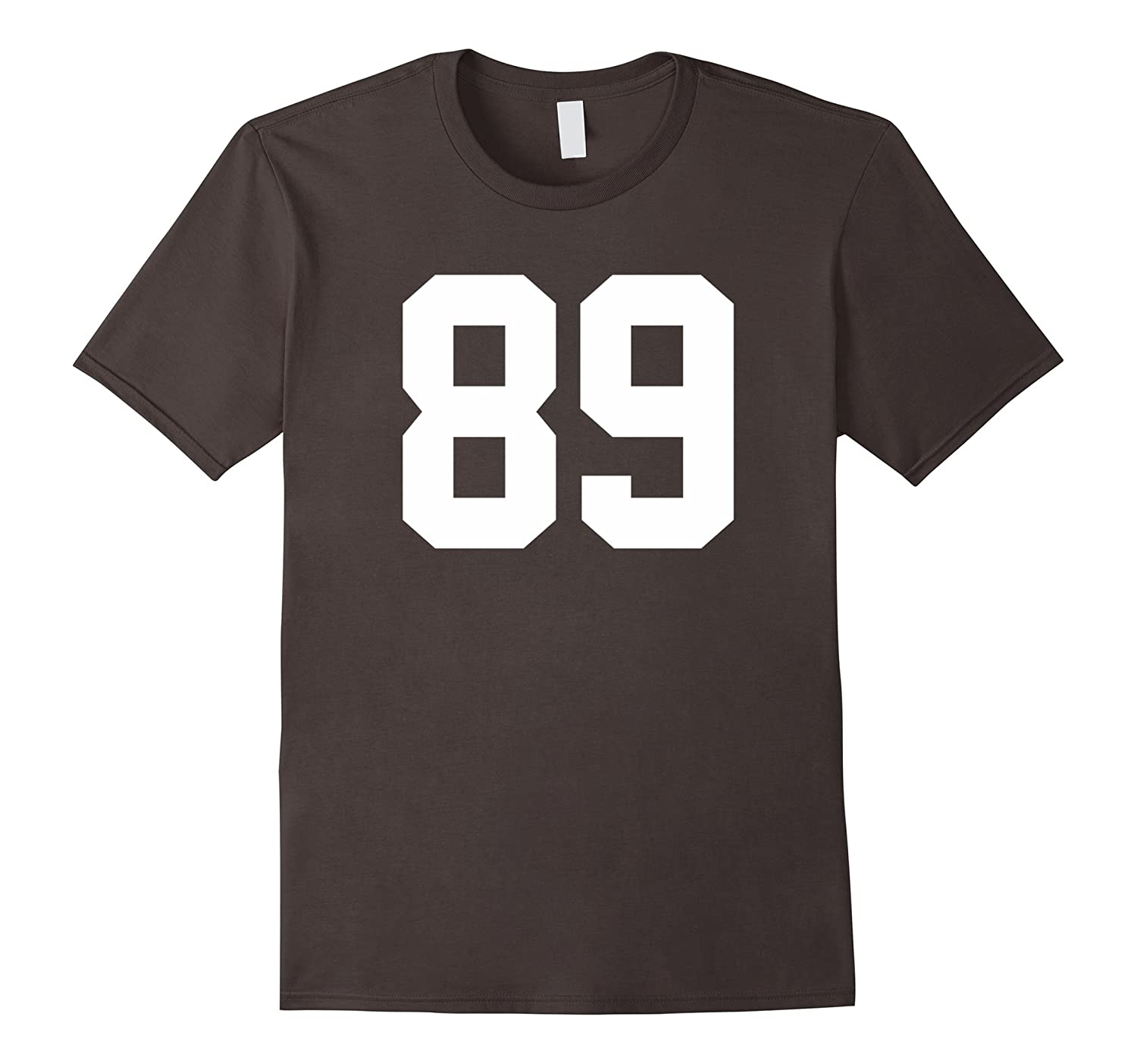 89 Sports Number T-Shirt for Team Fan My Favorite Player #89