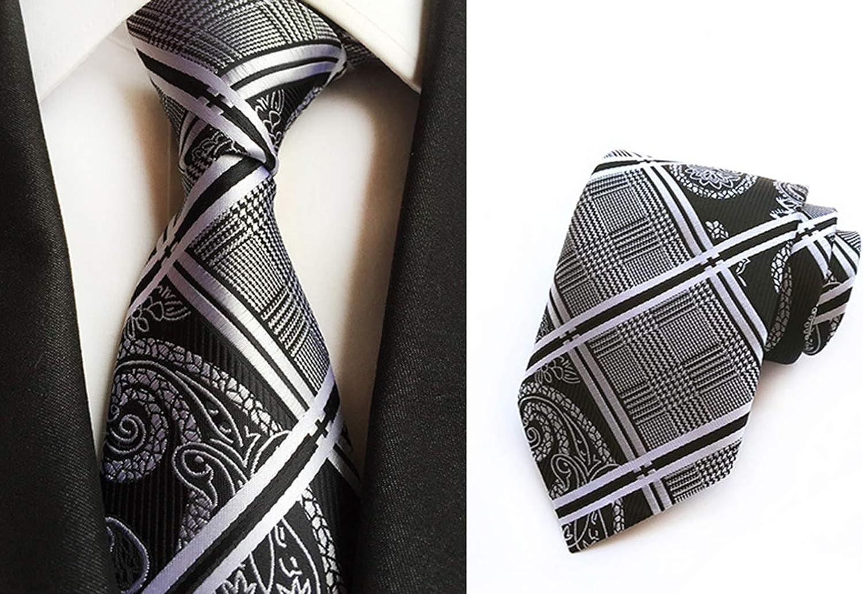 Slim Black Tie for Men Korean Silk Ties Male Modern Ties Man Skinny Necktie BS