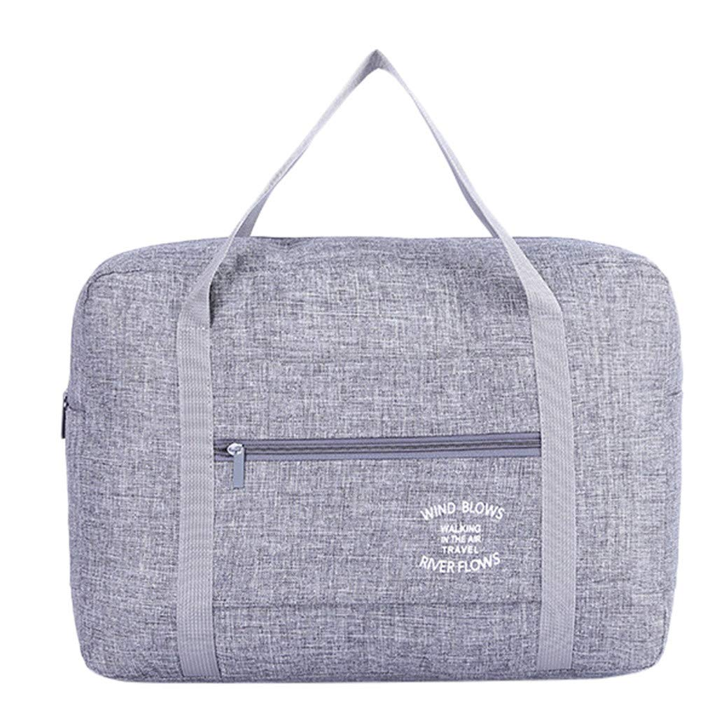 Folding Waterproof Large Capacity Portable Travel Bag Shoulder Bag Trolley Bag