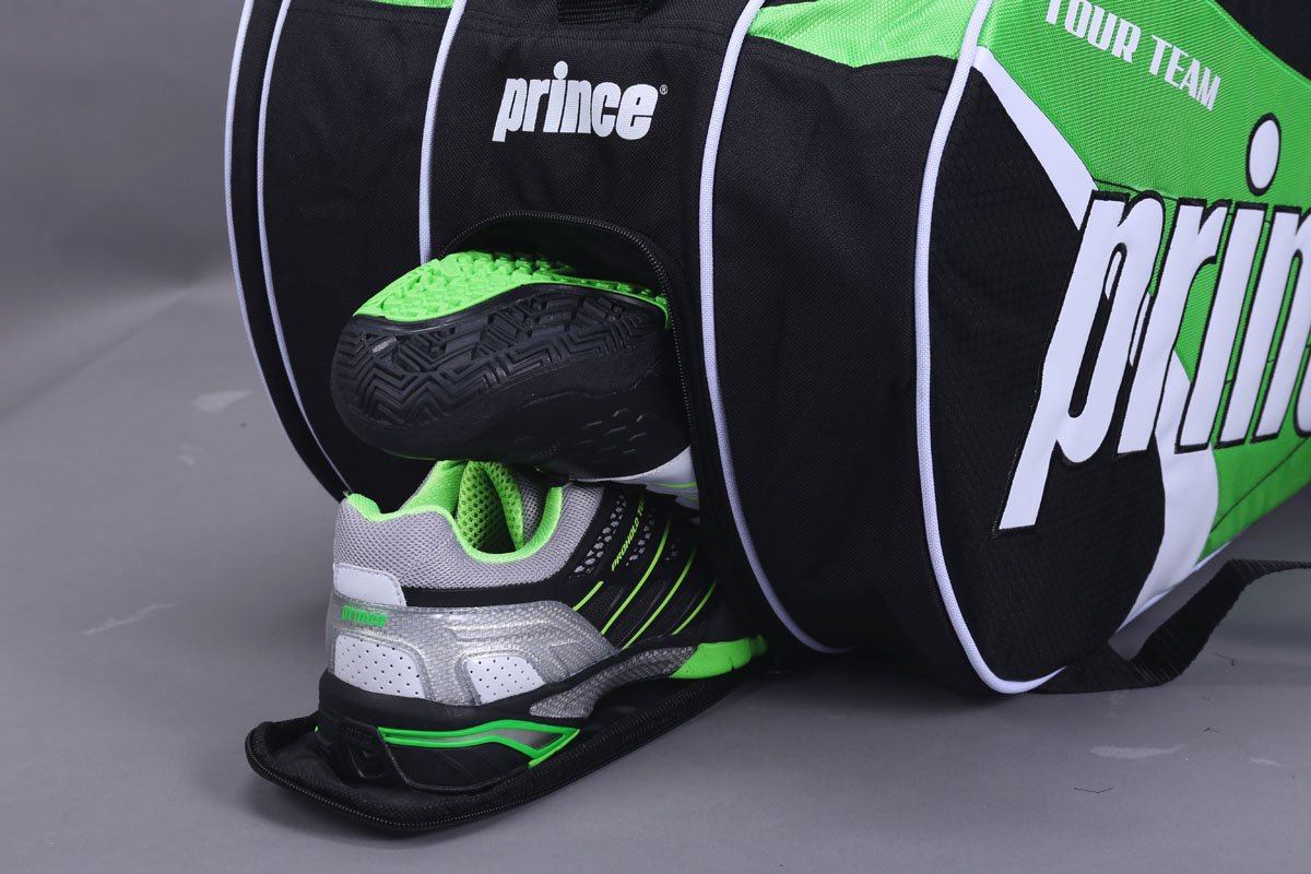 Prince Tour Team Green 12-Pack Tennis Bag (2014-15) by Prince (Image #3)