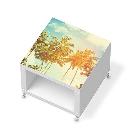 Los muebles-adhesivo protector de pantalla para IKEA de laca mesa auxiliar con ruedas |