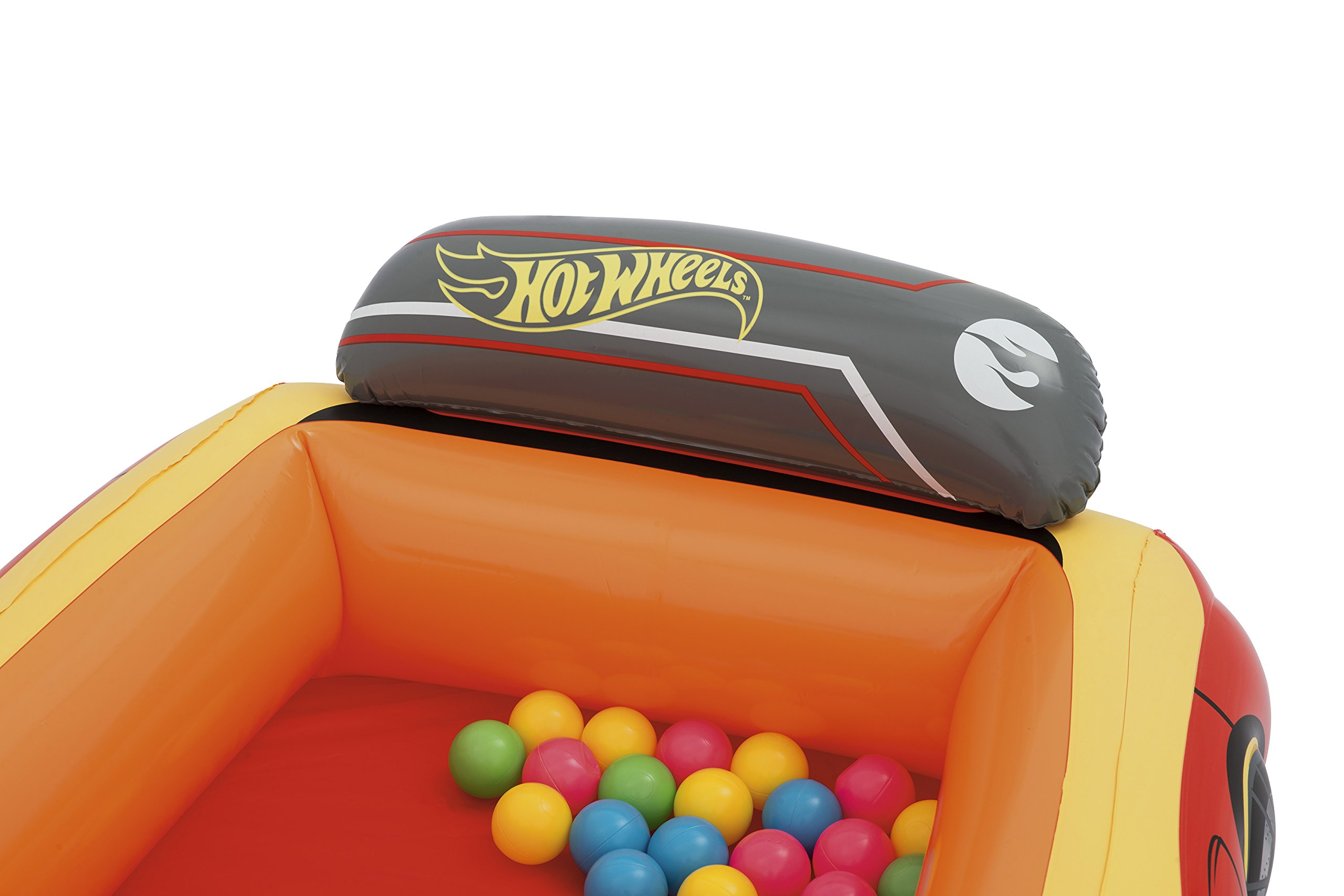 Bestway Hot Wheels Children's Inflatable Car Ball Pit, Includes 25 Balls by Bestway (Image #8)