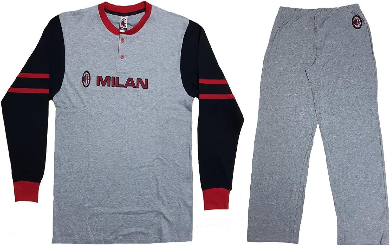 Pijama Chándal para Hombre AC Milan Ropa Equipos de fútbol * 12099 ...