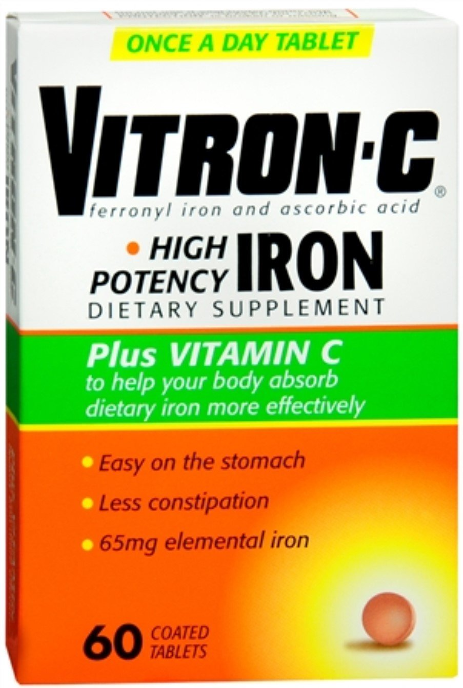 Vitron-C Coated Tablets 60 Tablets (Pack of 7)