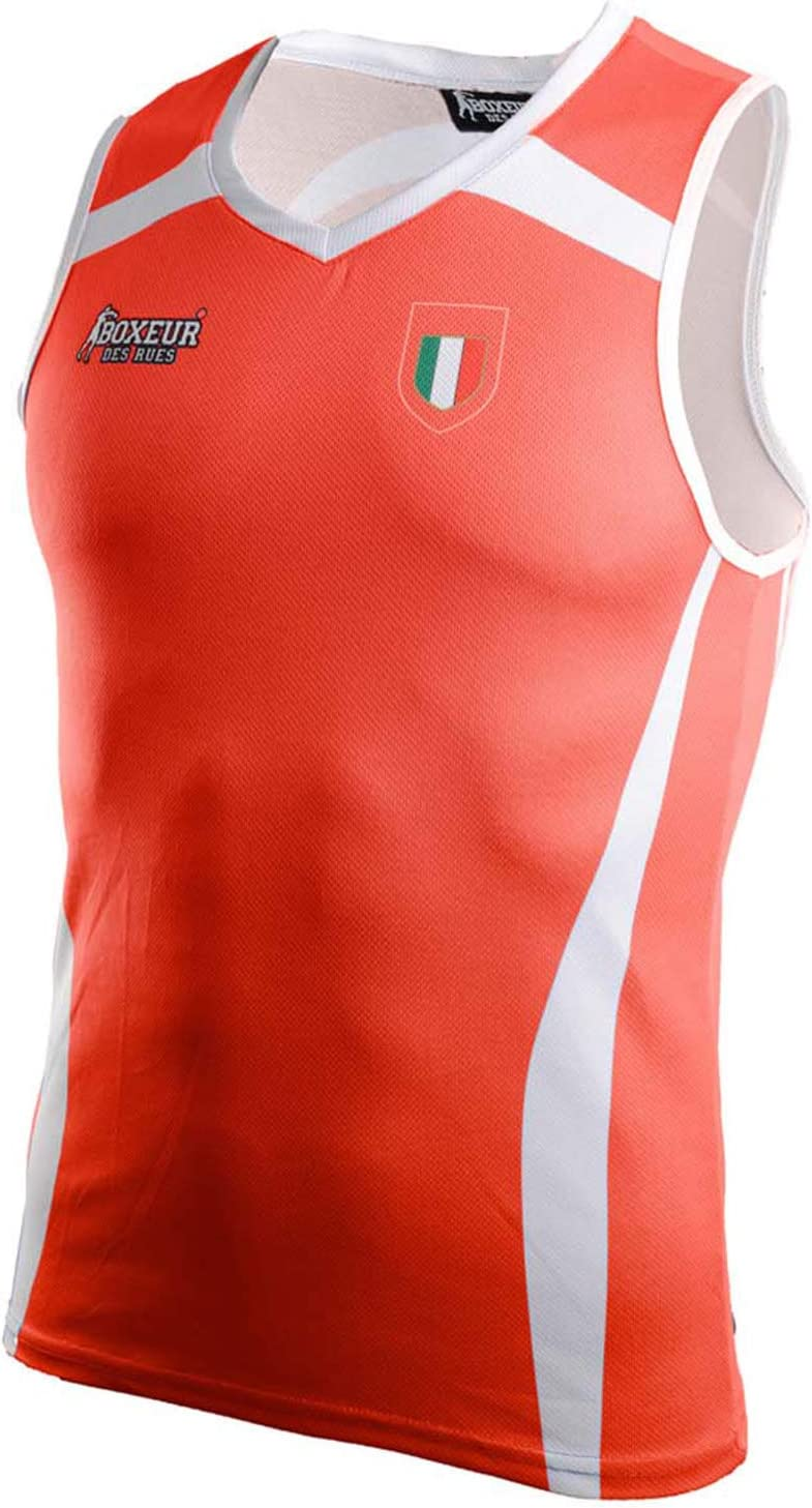 Boxeur des rues Man Man Fpi Olympic Match Tank