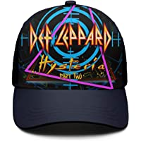 e4cf42583fc Hysteria-Def-Leppard-Band- Truckers Caps Baseball for Womens Mens Hats Retro