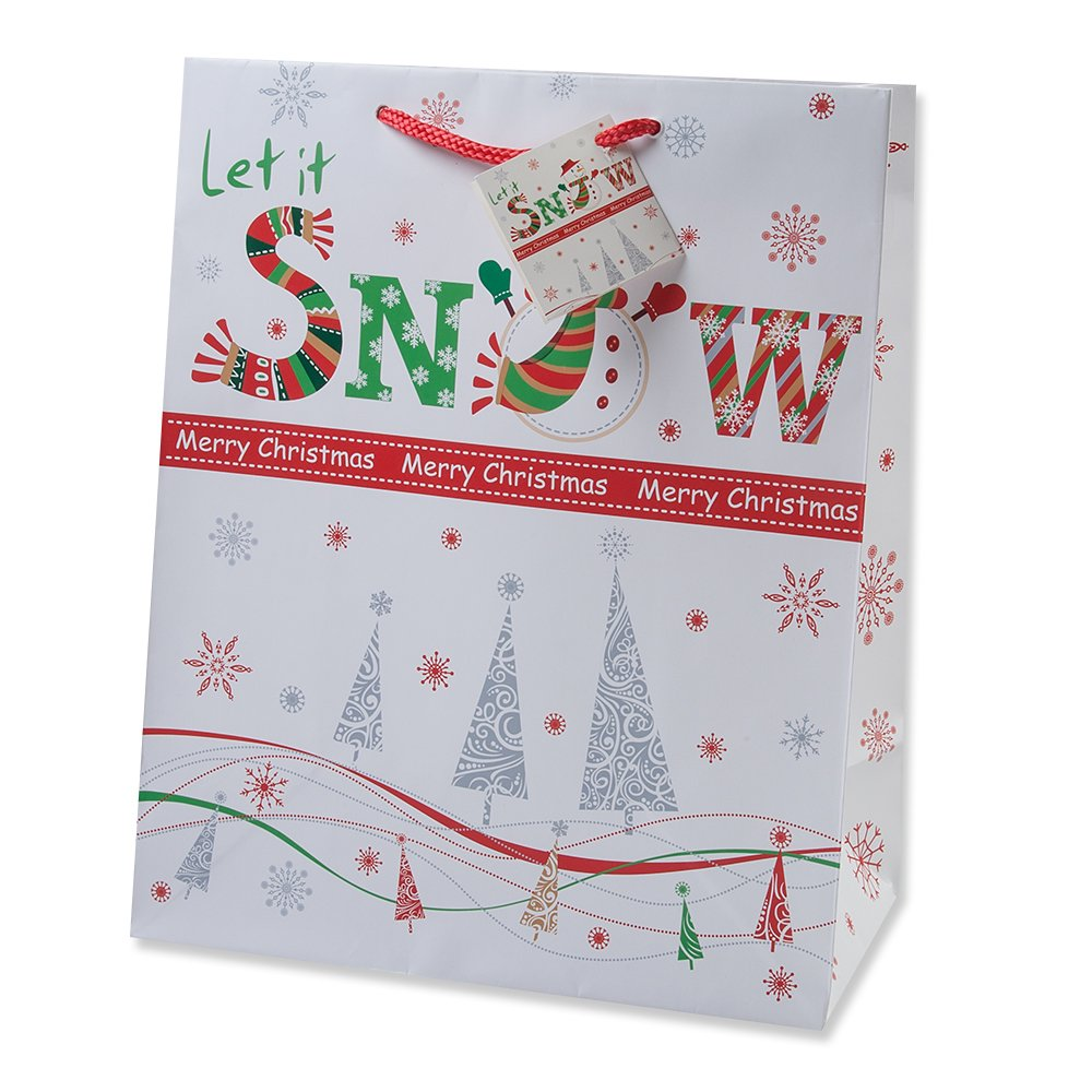 Amazon.com: Gift Boutique Christmas Gift Bags Small Bulk Assortment ...