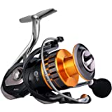 Sougayilang Fishing Reel 13+1BB Freshwater Spinning Reel Ultra Lightweight Smooth Powerful Fishing Reels with Graphite…