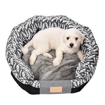 Janny Shop cama para perros Gato Techos camas y Sofás con extraíble Cojín alfombrillas Techos en