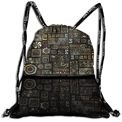 Amazon.com: LeYue Ethnic Handmade Ornament Drawstring ...