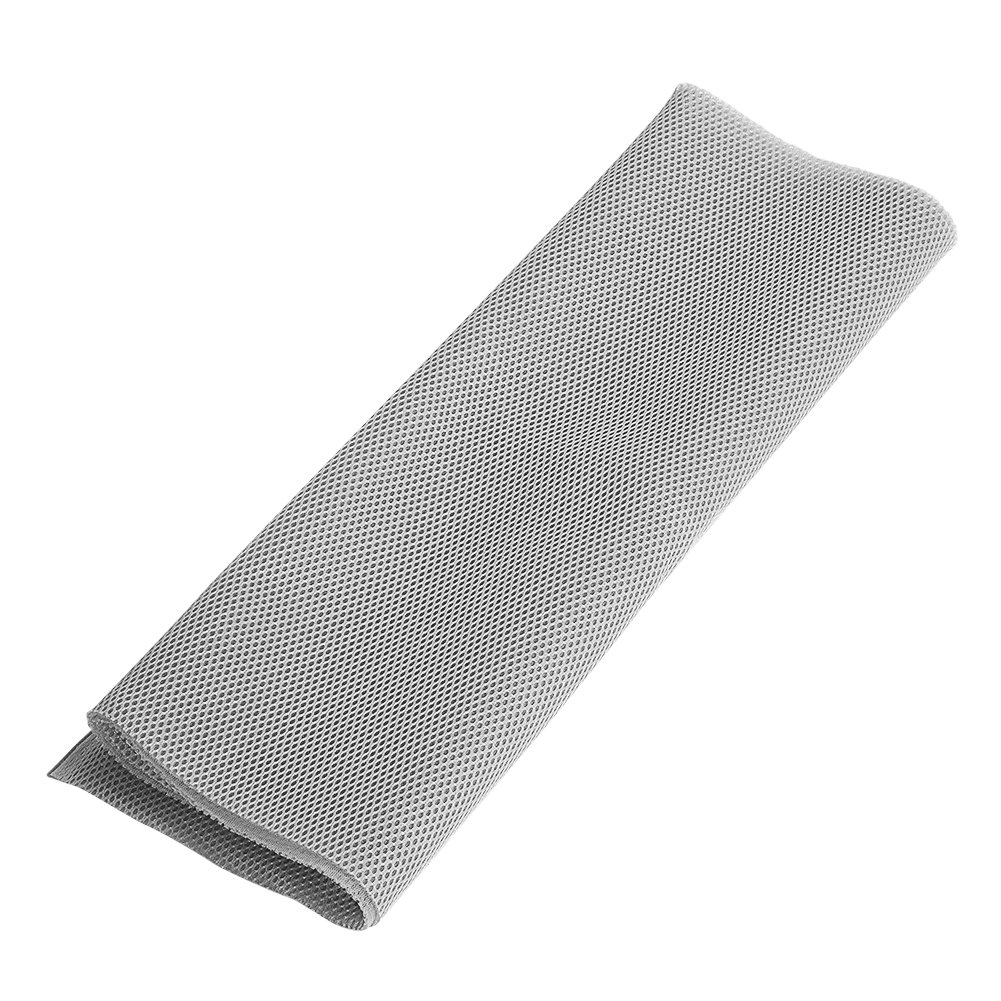 140cm x 50cm Speaker Grill Cloth Fabric Dustproof Speaker Mesh Cloth Protective Grille Cover for Stereo Audio Speaker(Gray) Zerone