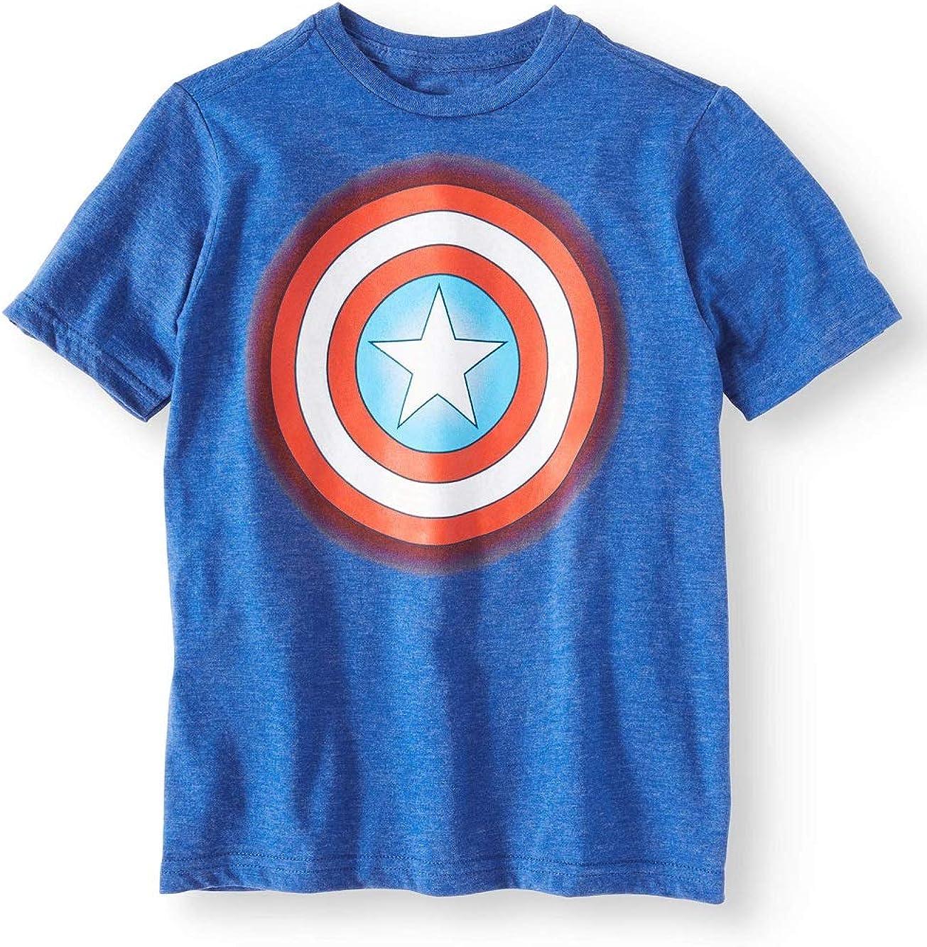 Camisa para niño con Texto en inglés Captain America Target ...