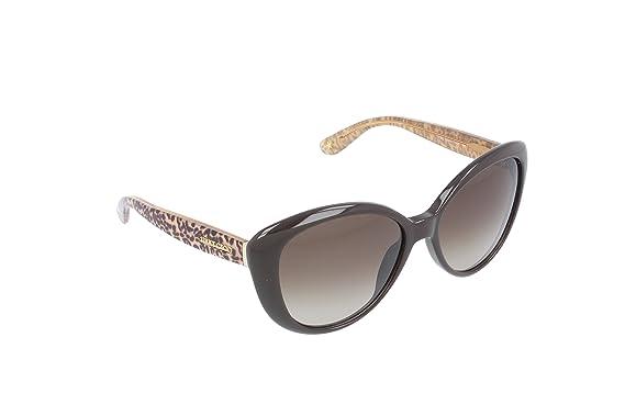 Jimmy Choo Damen TITA/S HA 8T4 Sonnenbrille, Braun (Brwpanthnude/Brown Sf), 55
