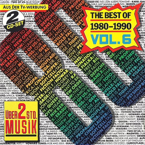 80er Jahre Tophits (6) (Compilation CD, 28 Tracks) (Orchestral Manoeuvres In The Dark Live And Die)