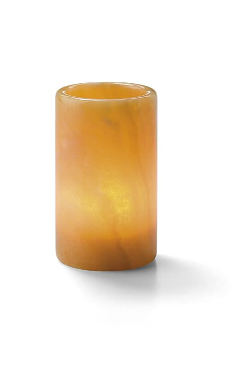 Amazon.com: hollowick Solid Honey Onyx cilíndrica para ...