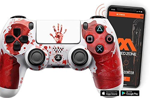 Bloody Hands PS4 Rapid Fire Custom Modded Controller review