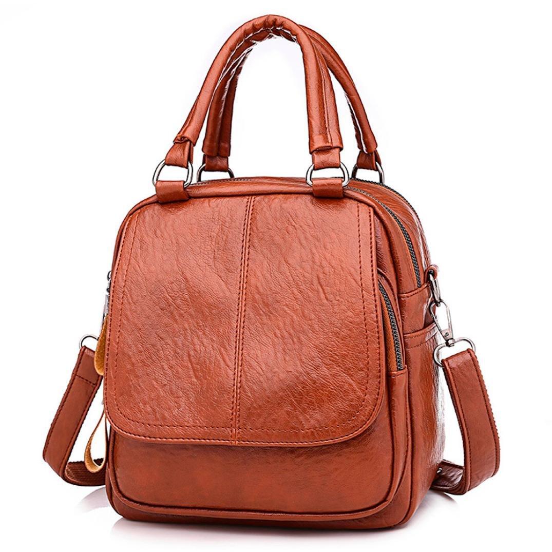 Women Girl Backpack, Realdo Fashion Versatile Converted Handbag Satchel Daypack Tote