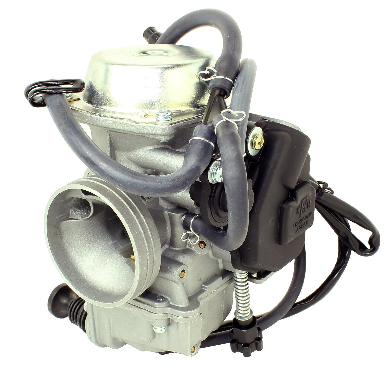 Caltric Carburetor Fits Honda 450 Trx450fe Trx45fm Kawasaki 350 Fe Wiring Schematic Foreman 2002 2004 Automotive