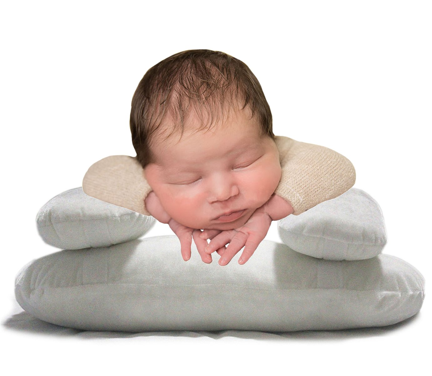 M&G House Newborn Photography Posing Pillow Baby Cushion Pillow Basket Filler Photo Props