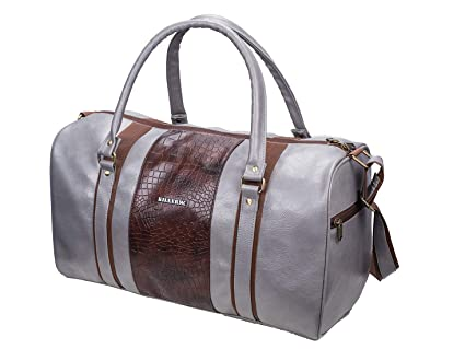 a42206b49ebb KILLER Jamaica PU Polyester 30 L Duffle Bag (Grey)  Amazon.in  Bags ...