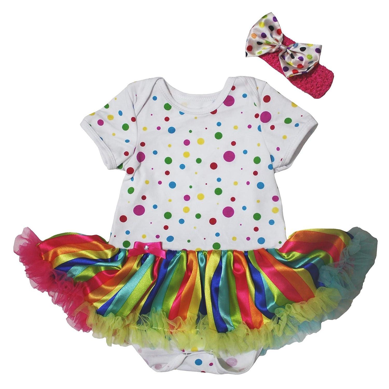 Petitebelle - Body - Robe - Bébé (fille) 0 à 24 mois multicolore  Multicoloured 6abae24a7d6