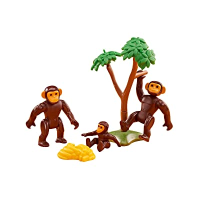 Playmobil Add On 6542 Chimpanzee Family: Toys & Games