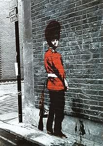 Amazon.com: Banksy (Reproduction) Queens Guard Art Print