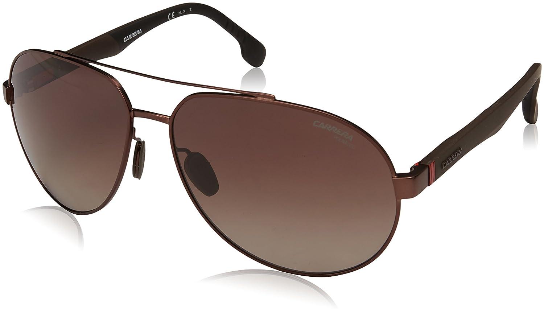 380ab18905 Carrera Polarized Aviator Unisex Sunglasses - (CARRERA 8025 S 003 63W6