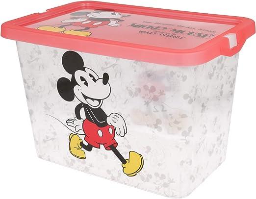 Stor Caja Click 7 L Mickey Mouse - Disney - 90: Amazon.es: Hogar