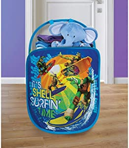 Playhut Pop N Play Laundry Tote - Teenage Mutant Ninja Turtles