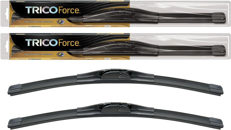 "18/"" Trico Force All-Season Beam Wiper Blades 25-180 x2 2-Wipers 18/"""