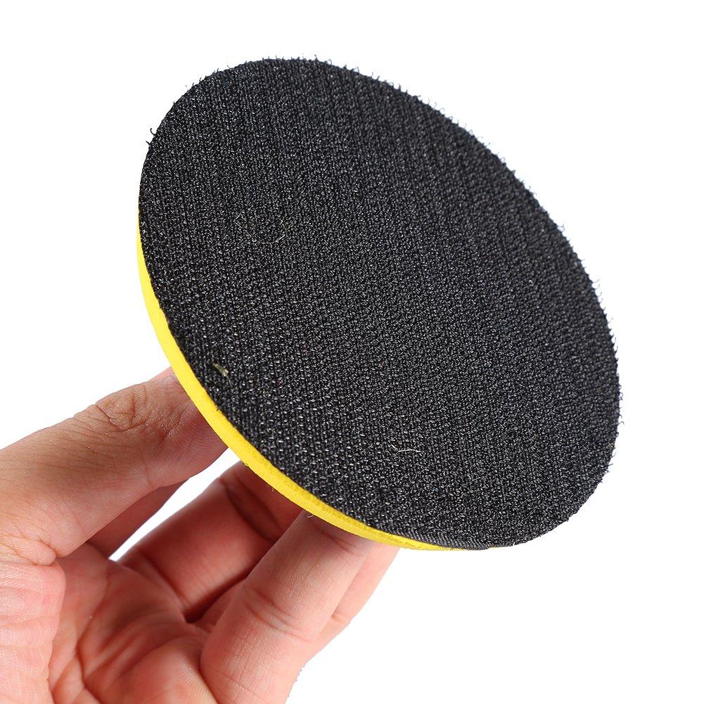 One Set 10,2/cm GLOGLOW Diamant Wet Dry Rund Polieren Pads Disc f/ür Granit Marmor Beton Stein