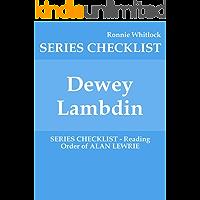 Dewey Lambdin - SERIES CHECKLIST - Reading Order of ALAN LEWRIE